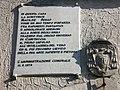 Lapide commemorativa posta sull'abitazione ove dimorò Matilde SeraoTerzo.jpg
