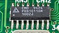 Laptop Acrobat Model NBD 486C, Type DXh2 - California Micro Devices CMD 9424 on motherboard-2355.jpg