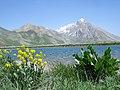 "Lar, ""Kahrizak darre"" Lake لار، دریاچه کَهریزَک دره وآسمانکوه - panoramio.jpg"