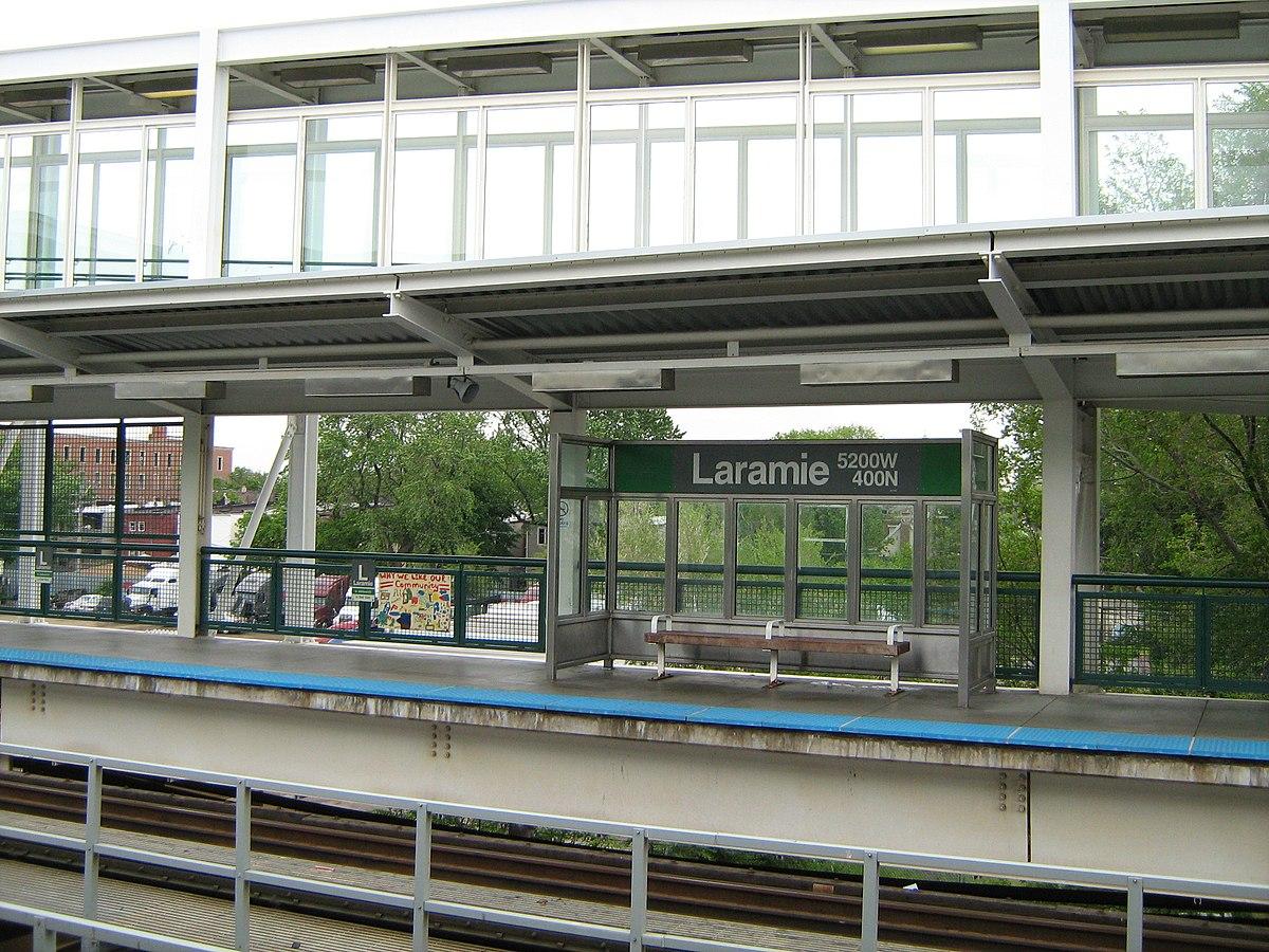 laramie station cta green line wikipedia. Black Bedroom Furniture Sets. Home Design Ideas