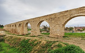 Turkish Cypriots - The Bekir Pasha Aqueduct was built by the Ottoman governor Ebubekir Pasha in 1747. It is considered to be the most prominent water supply ever built in Cyprus.