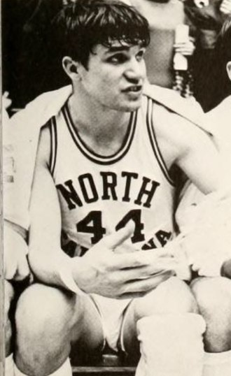 Larry Miller (basketball player) - Miller at UNC in 1968.
