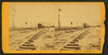 Last rail - Promontory, by Jackson, William Henry, 1843-1942.png