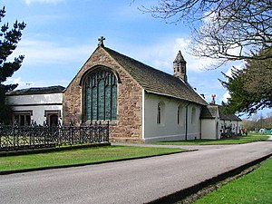 Lathom - Lathom Park Chapel, founded by the Thomas Stanley, 2nd Earl of Derby in 1500