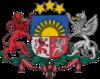 Escudo de Letonia