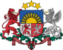 Latvia: Coat of Arms