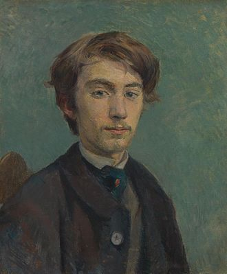 Post-Impressionism - Henri de Toulouse-Lautrec, Portrait of Émile Bernard, 1886, Tate Gallery London