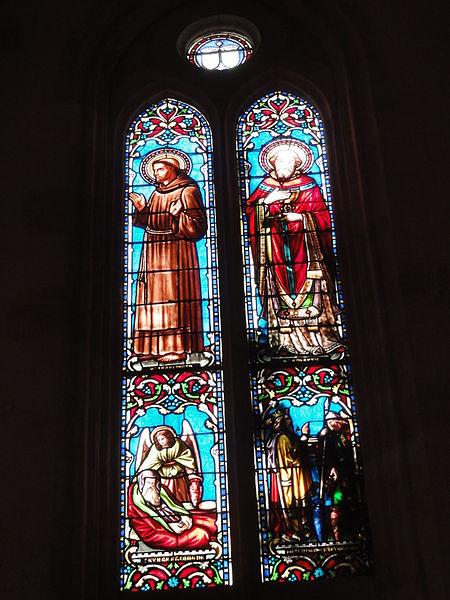 Le Barp (Gironde) église, vitrail 05