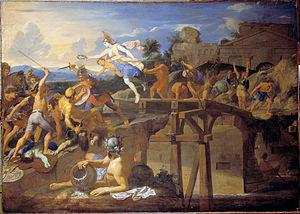 Horatia (gens) - Horatius Cocles defending the Bridge (1642–43) by Charles Le Brun