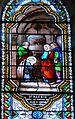 Le Bugue église vitrail St Alexis (1) détail.JPG