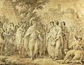 Le Consul Popilius Lena entourant d'un cercle le roi Antiochus.jpg