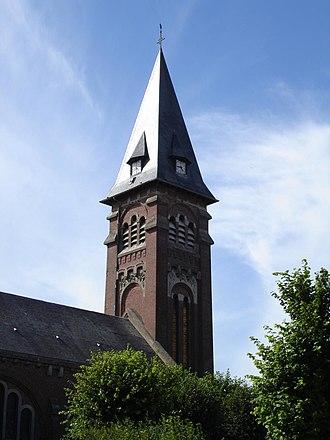 Le Hamel, Somme - The church in Le Hamel