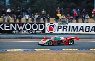 1991 24 Hours of Le Mans - This Mazda 787B became the first Japanese car to win the 24 Hours of Le Mans.