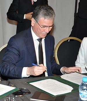El Hossein El Ouardi - Image: Le Maroc poursuit sa réforme de la santé (8170068192)