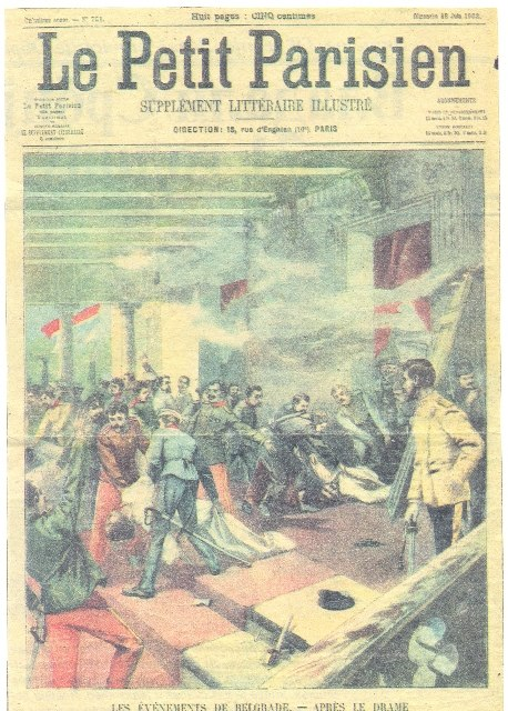 Le Petit Parisien - May Overthrow