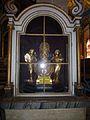 Le reliquaire de Saint Cornely, Eglise St Cornely à Carnac.JPG
