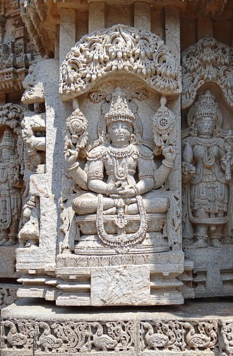 Gautama Buddha in Hinduism - Buddha as Vishnu at Chennakesava Temple (Somanathapura).