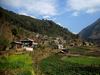 Lelep Village development committee in Mechi Zone, Nepal
