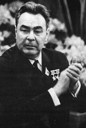 Leonid Brezhnev Portrait