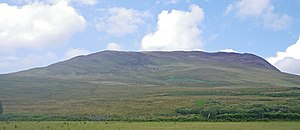 Level pasture leading to the severe slopes of Beinn Bheigier - geograph.org.uk - 1444410.jpg