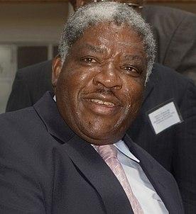 Levy Mwanawasa President of Zambia