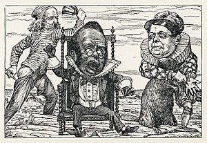 Lewis Carroll - Henry Holiday - Hunting of the Snark - Plate 9