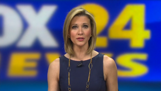 WTAT-TV - FOX 24 Anchor Leyla Gulen during a primetime News at 10pm broadcast