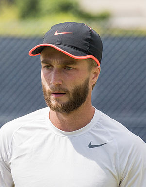 Liam Broady - Broady at the Aegon Surbiton Trophy in 2015