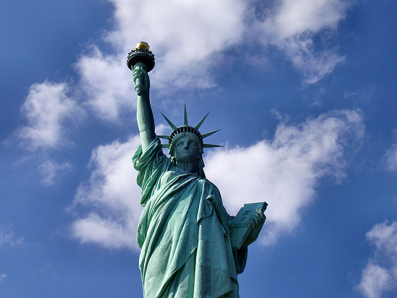 Archivo:Liberty-statue-from-below.jpg