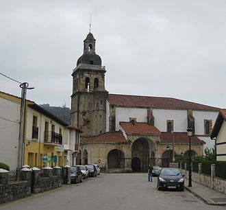Liendo - Church of the Assumption of Our Lady in Hazas, Liendo, Cantabria.