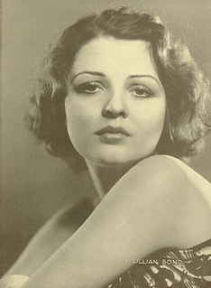 Lilian Bond British actress