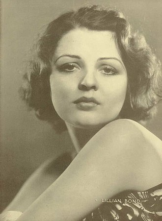 Lilian Bond - publicity photo of Lilian Bond, May 1931