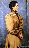 Lilla Cabot Perry, Portrait of Baroness R..jpg