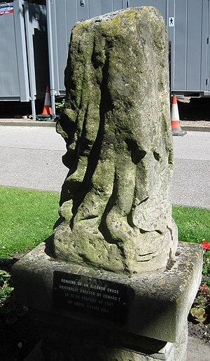 Eleanor cross - The St Catherine's, Lincoln, cross