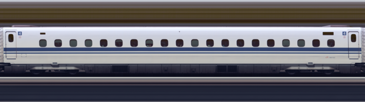Line scan photo of Shinkansen N700A Series Set G13 in 2017, car 04.png