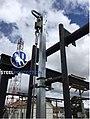 Linea de vida vertical para escaleras marca Steelprotection colombia.jpg