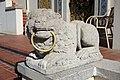 Lion with ring - Hearst Castle - DSC06567.JPG