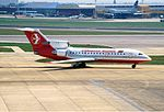 Lithuanian Airlines Yakovlev Yak-42 Rees-1.jpg
