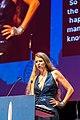 Liz Gorinsky, editor, at the Hugo Awards Ceremony, Worldcon, 2017, Helsinki.jpg