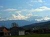 Ljuboten peak, Šar Mountains, view from the Uroševac