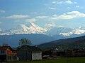 Ljuboten peak, Šar Mountains, view from the Uroševac.jpg