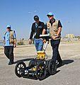 Loading the equipment at the Dead Sea - (09 Nov) (15577391299).jpg