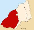 Location of Contralmirante Villar province.PNG