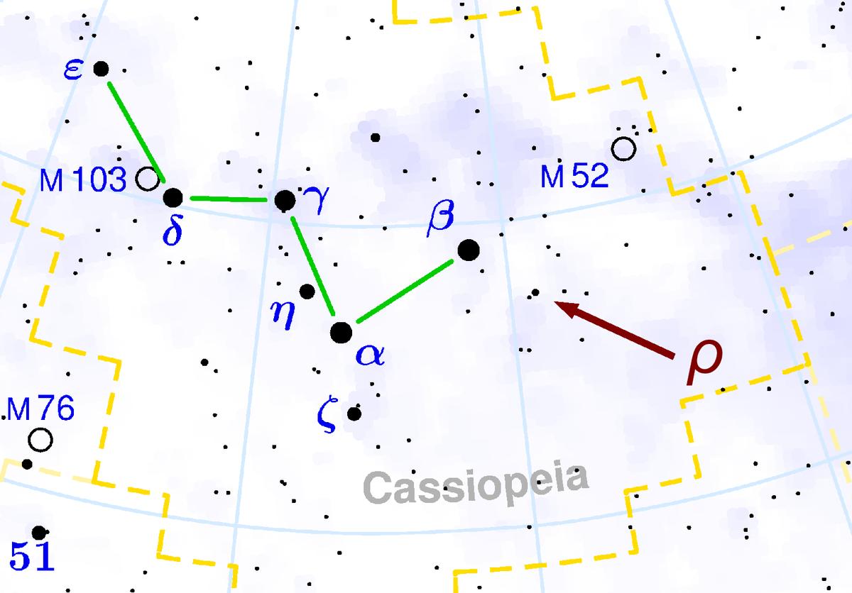 Rho Cassiopeiae