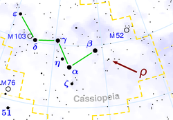 Location of Rho Cassiopeiae.png