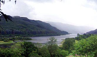 Loch - Loch Lubnaig, a reservoir