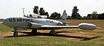 Lockheed T33A at Stafford Air Museum 2 (15219755820).jpg