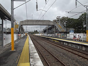 Logan City - Loganlea railway station, 2012