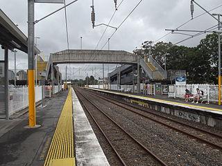 Loganlea railway station railway station in Brisbane, Queensland, Australia