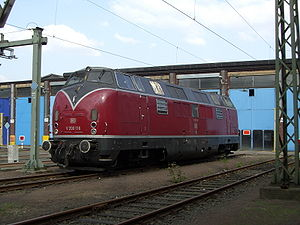 V 200 116 in the Cologne-Deutzerfeld depot